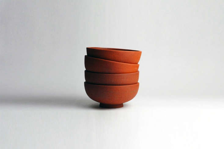 Steal This Look A Piggery Turned Kitchen Custom Larder Included Ceramicist Miro Chun of Miro Made This makes a bright rust colored Rounded Udon Bowl for \$65. (The bowls are currently sold out; contact Miro Made This for orders.)