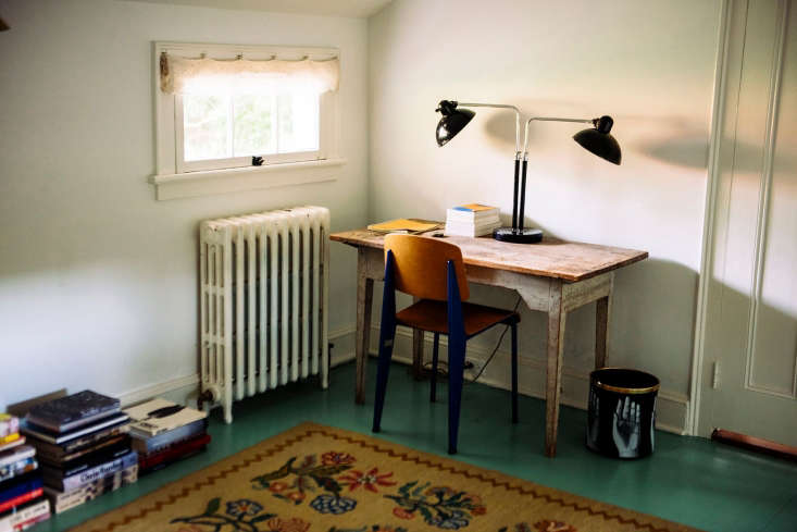 berman and horn assembled an antique swedish writing table, christian bell lamp 18