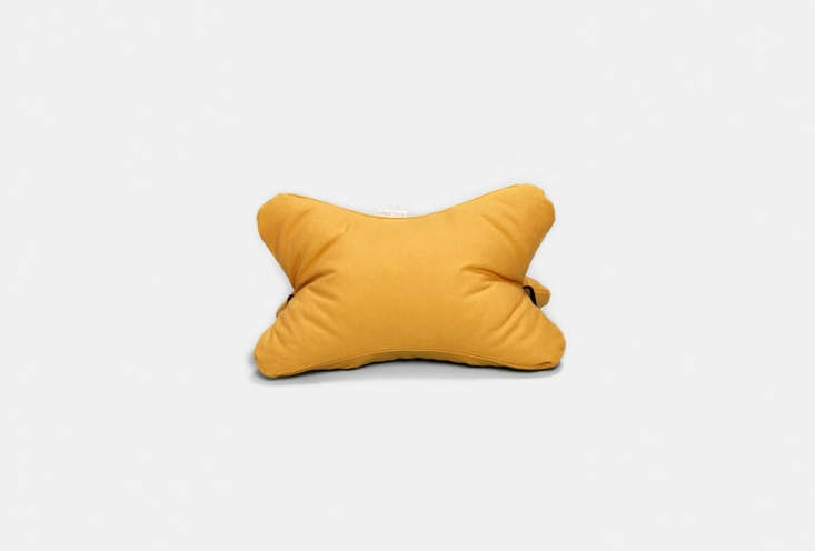 for more casual lounging, the 3d cushion in peru yellow (shown), salmon, and ta 16
