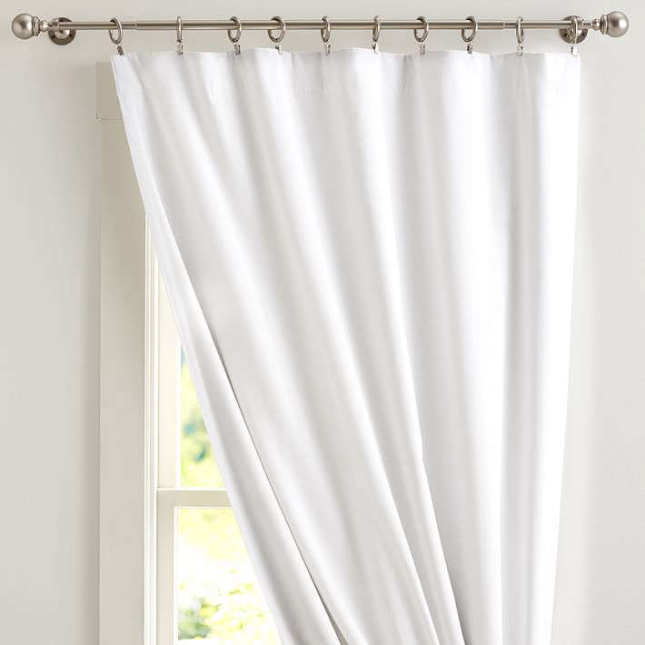 depending on the curtain rod situation, you don&#8\2\17;t want to show up t 26