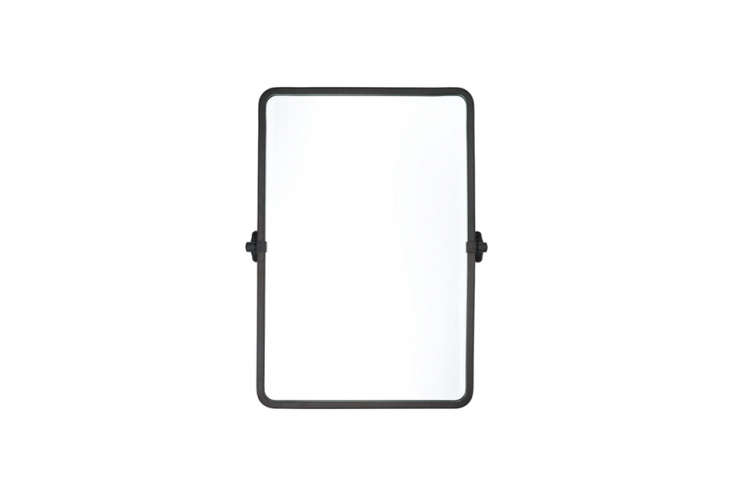 thetolson rounded rectangle pivot mirror in oil rubbed bronze is \$3\15 for t 19