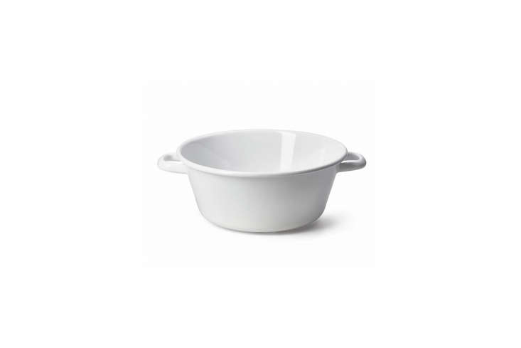 A Riess Small Enamel Bowl with Handles is €.50 at Manufactum in Germany.
