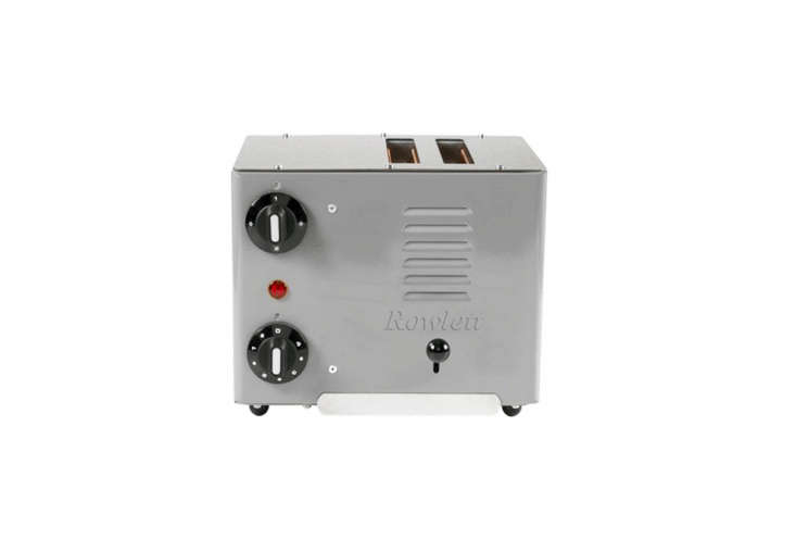 Object of Desire Handmade Rowlett Toasters from the UK The Roulette Rutland Two Slot Toaster has been in production since the \1960s; £\160 from Dyke & Dean.