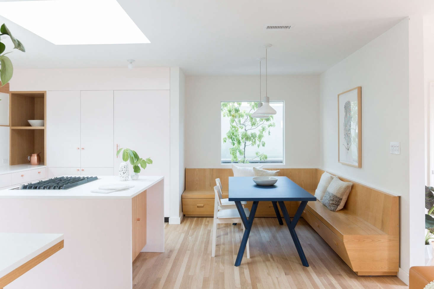 The architects introduced a minimalist, carefully crafted kitchen that Remodelista awards judge Sam Hamilton describes as &#8