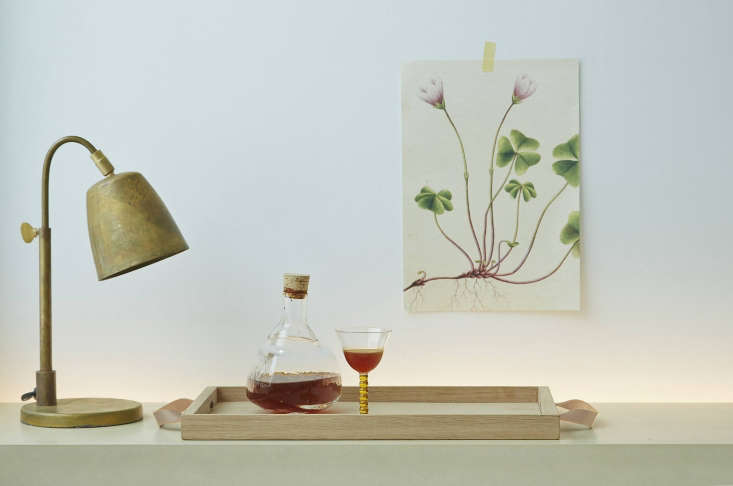 The newNorr Tray (549.95 DKK, or $87.80) is made of oak and leather that will patinate over time. It&#8