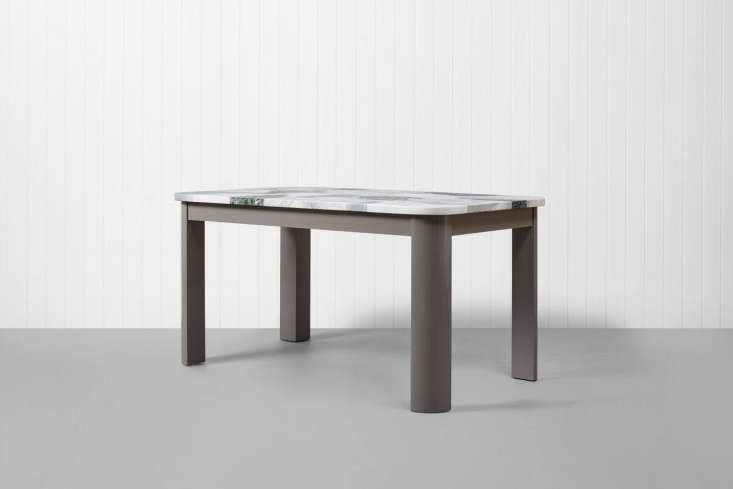 thetrunk table with giant terrazzo is the custom build option with a terrazzo 18