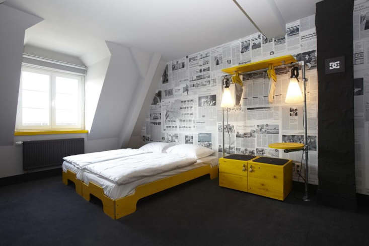 11 HostelStyle Lodges for the New International Nomad The playfulSuperbude II St Pauli, and its companion hostel, Superbude St. Georg, both in Hamburg, Germany, are the work of German architecture firm Dreimeta. The designers&#8\2\17; choice of Rolf Heide&#8\2\17;s wooden stackable beds—see our post, Guest Beds for Small Spaces—enables rooms to accommodate small groups and large.
