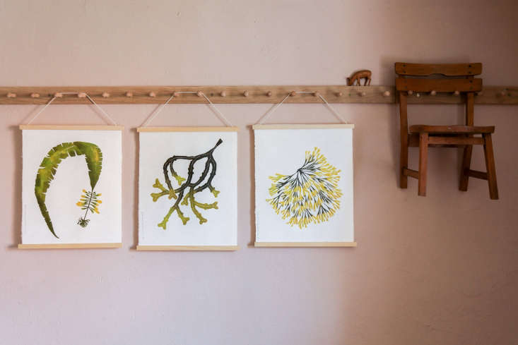the prints hang from superfolk medium hanging frames, €30 (\$35.65), which in 22
