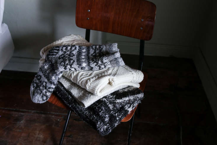 a wardrobe of woolens is essential in these parts. 24
