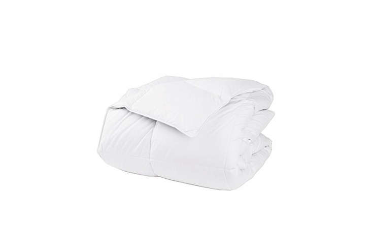 the lacrosse twin xl light down comforter is \$\139 at the company store. the l 11