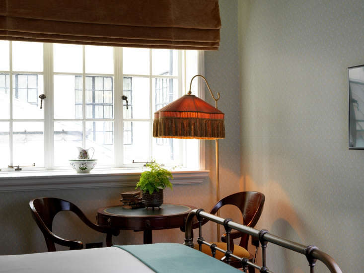 the statement fringed lamp. 13
