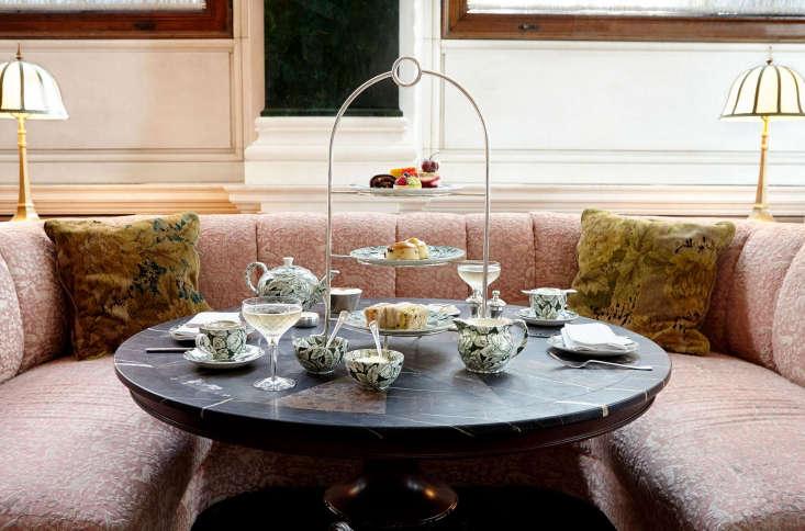 afternoon tea, on bespoke burleigh china. 24