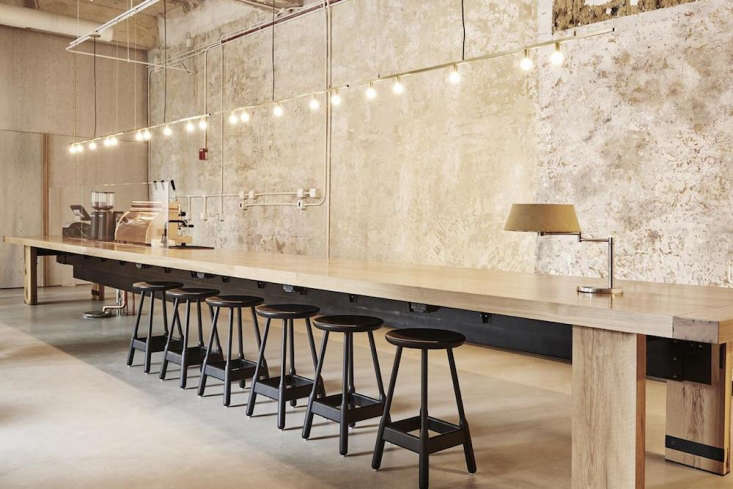 designersciguë and delordinaire stripped the walls for an industrial vibe. a 10