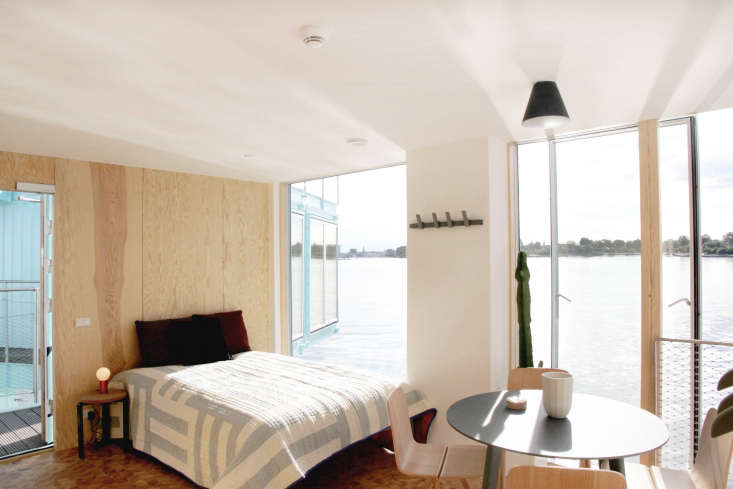 11 HostelStyle Lodges for the New International Nomad Urban Riggeris the first in what its founder, Kim Loudrup, plans to be a fleet of floating student houses made from recycled shipping containers. Architect Bjarke Ingels designed this one, which comes with plywood paneled bedrooms and prime views.