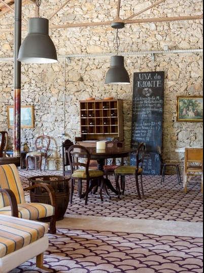 Lobby of Uva do Monte in Portugal