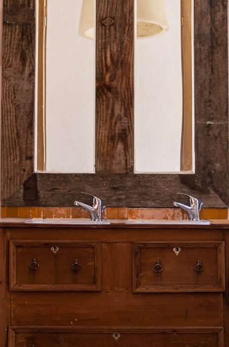 Bathroom Sink in Double Superior Room at Uva do Monte in Portugal