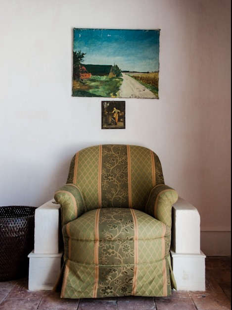 Armchair in Suite at Uva do Monte in Portugal