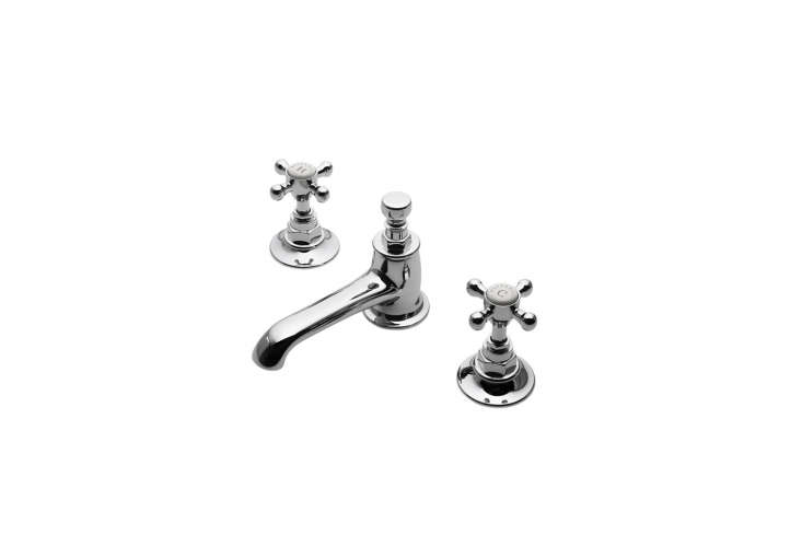 the waterworks highgate low profile three hole deck mounted lavatory faucet is  20
