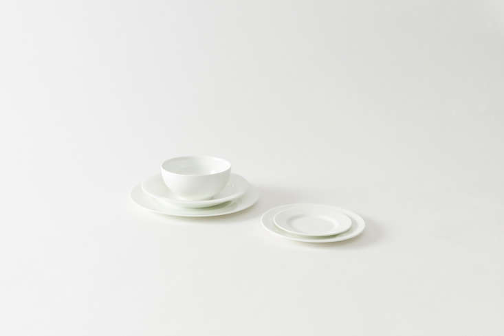 Steal This Look A Piggery Turned Kitchen Custom Larder Included Wedgwood White Dinnerware ranges from \$\20 to \$60 per piece at March.