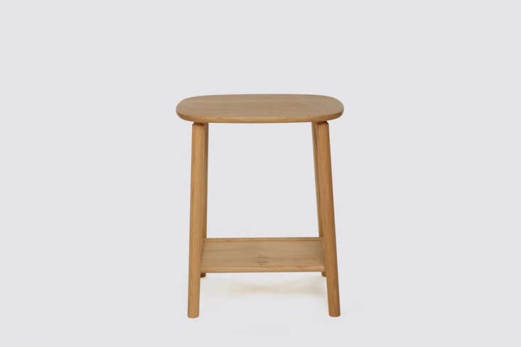 New Furniture from Another Country Inspired by Poetry Hardy Side Table in Oak Without Drawer by Another Country