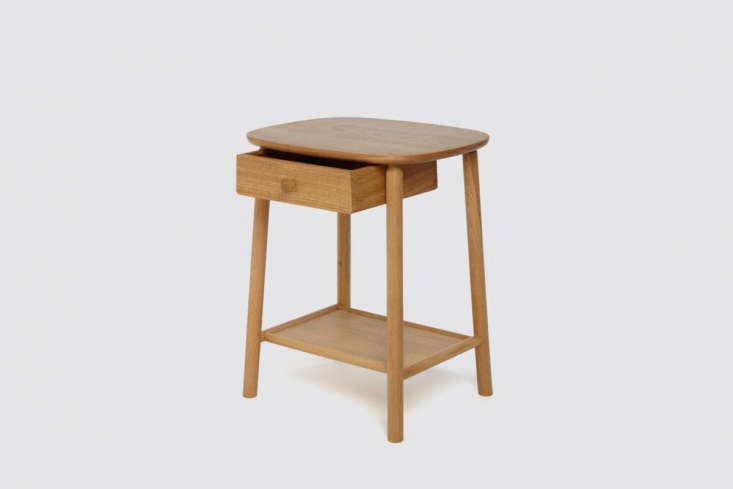 New Furniture from Another Country Inspired by Poetry Hardy Side Table in Oak With Drawer by Another Country
