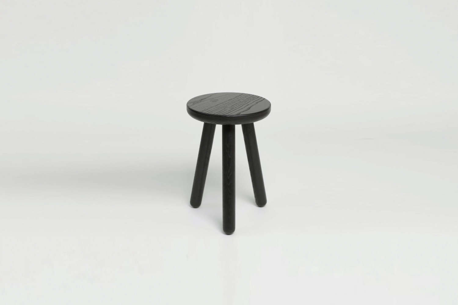 The Another Country Stool One in black wood is £
