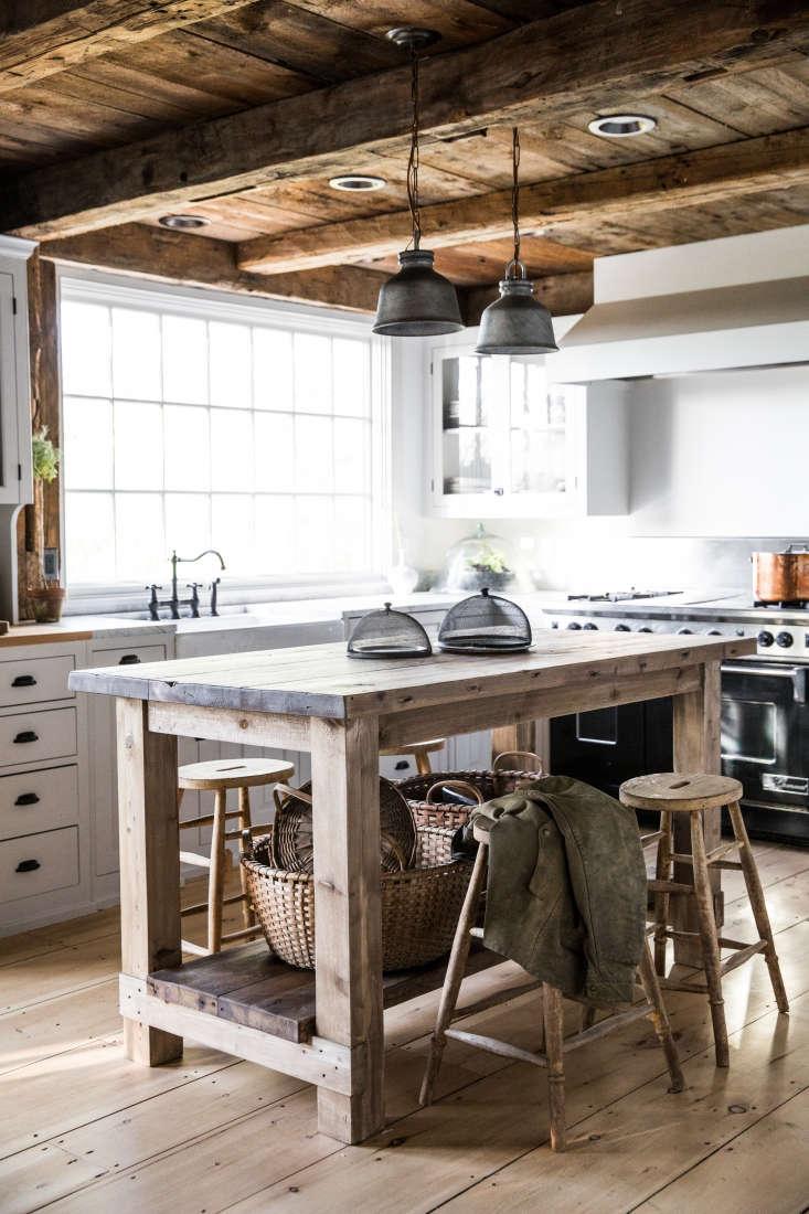 the farmhouse style kitchen. 10