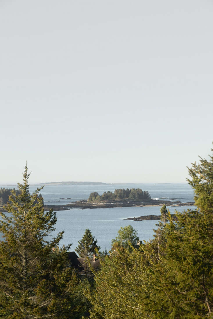 the view of penobscot bay. 29