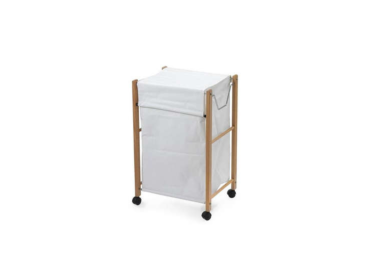 We also like the Biancolino Laundry Basket with solid beech frame, waterproof insert, and casters. Contact Aris for ordering information.