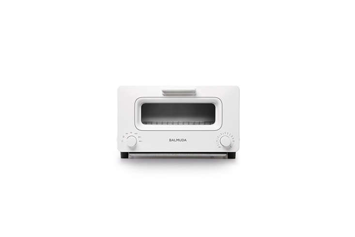 10 Favorites DesignForward Countertop Appliances from Around the World The newBalmuda Steam Oven Toasterfrom Japan uses has a steam feature for toasting and warming breads(ideal for theplain toast, baguette, croissant, rice cake, and croque monsieur lover). It's \$379.90 through Amazon or can be purchased directly fromBalmudain Japan. For more toaster ovens, see\10 Easy Pieces: Toaster Ovens.
