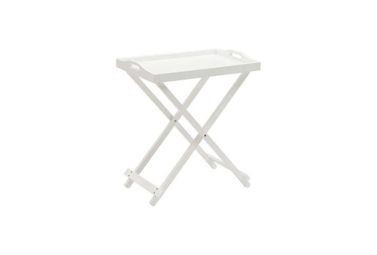 The Convenience Concepts Folding Tray Table in white is $33.06 at Hay Needle.