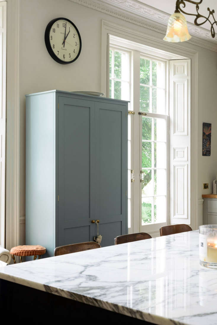 A stand-alone deVOL cabinet, painted in the company&#8