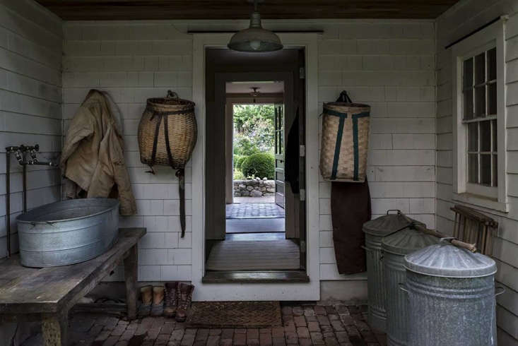 Trending on Gardenista Design Secrets Kendra visitsa circa \1830 saltbox house, with lunch in the barn overlooking the garden, inHomeward Bound: My Childhood Connecticut, Only Better, at Dirt Road Farm.