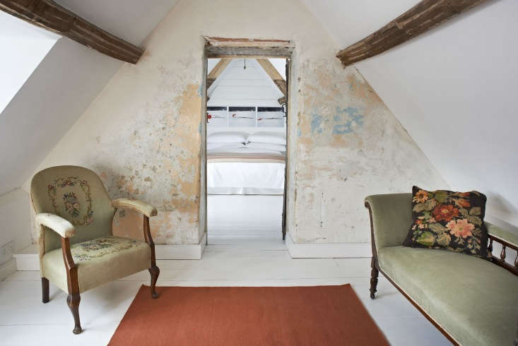 another room in the six bedroom durslade farmhouse where some walls were restor 19