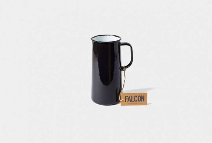 Falcon in the UK—which has been manufacturing enamelware since the s—just released a new series of pitchers in three sizes. Here, the3 Pint Jug in black;$47. See more favorites from Falcon in Noir Enamelware: Falcon Basics in Black and White.