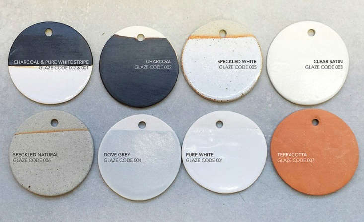 Glaze color finishes from Anchor Ceramics.For purchase inquiries, contact Anchor Ceramics or one of their stockists.