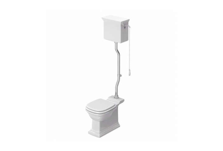 The Henley High Level Pan Toilet is British-designed and available in the United Kingdom for £9