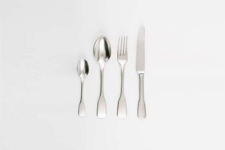 TheknIndustrie Brick Lane Cutlery starts at €3.40 ($4) for a teaspoon at Dopo Domani.