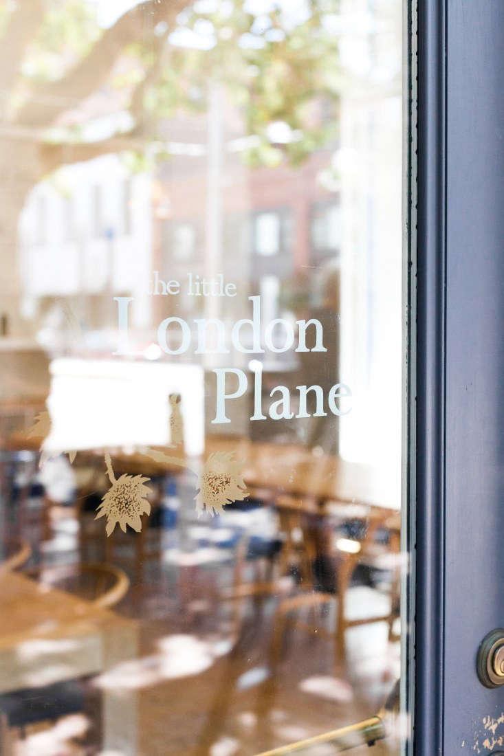 little london plane seattle sign door glass