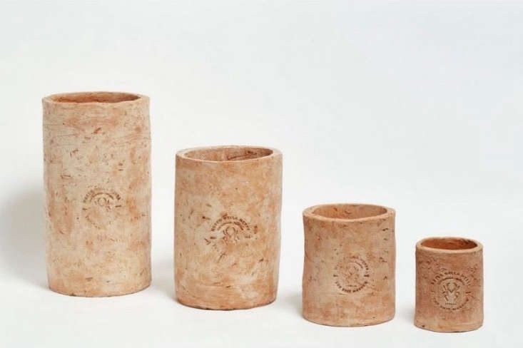 Trending on Gardenista Design Secrets The latest object of Michelle&#8\2\17;s desire:Merdacotta Flower Pots from Italy, made from a surprising material.