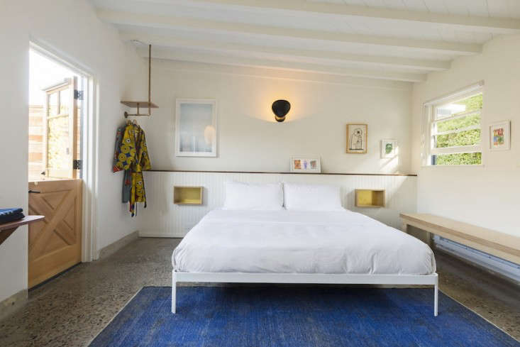 each guest room is curated with a design reminiscent of a laid back californi 16