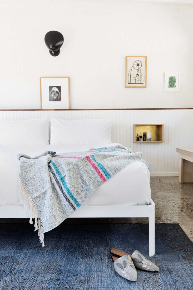 throughout the property, vintage photography lines the walls depicting malibu i 18