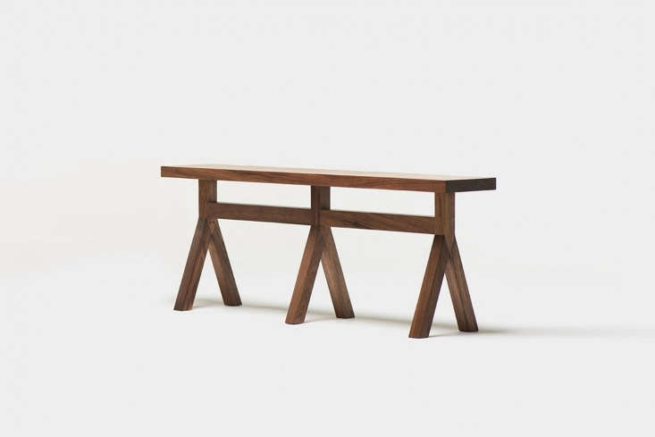 10 Easy Pieces Versatile HardWearing Wood Dining Benches Designed by Neri & Hu for De La Espada theCommune Bench is \$\2,\200 at the Future Perfect.