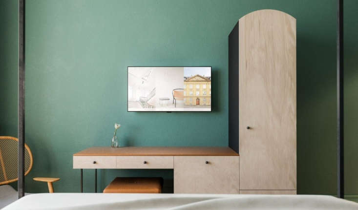 The Remodelista color of the year? Mignonette Green, a color we&#8