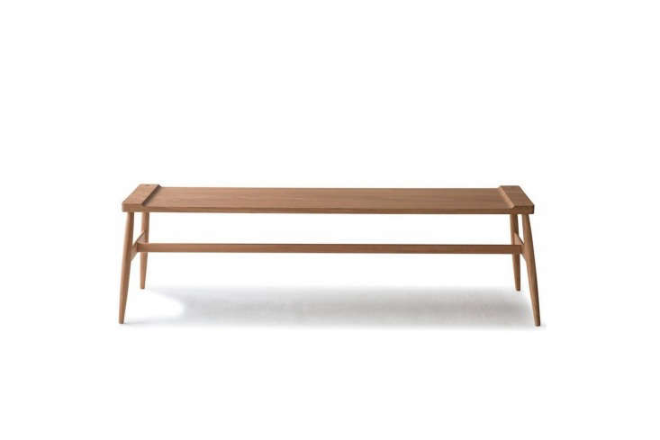10 Easy Pieces Versatile HardWearing Wood Dining Benches From Pinch Design theImo Benches comes in oiled oak (shown) or a mix of an oak top and walnut base; \$\1,935 at the Future Perfect or at Pinch in the UK.