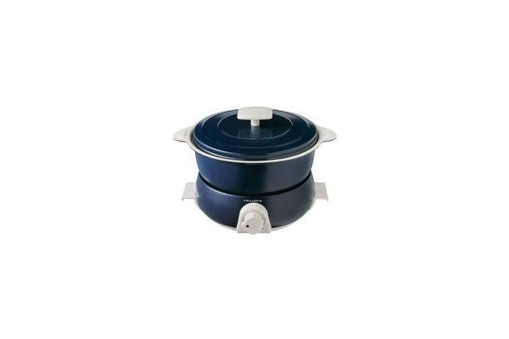 10 Favorites DesignForward Countertop Appliances from Around the World Another appliance from Japanese company Recolte, the Recolte Pot Duo Fête Electronic Pot Multi Cooker (available in navy or red) cooks, steams, bakes, and fries food; \$\155.45 at Amazon.