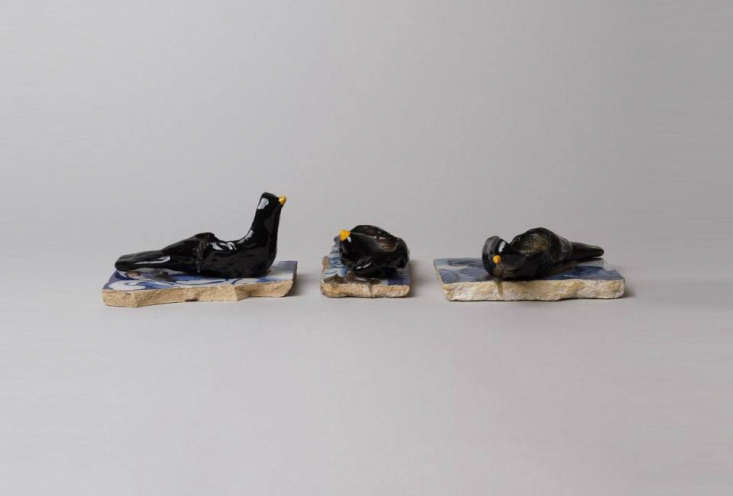 another black portuguese candle, theblackbird candle (shown here are three ha 19