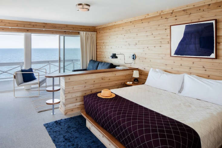 the 55 guest rooms each have large windows facing the ocean and glass doors lea 15