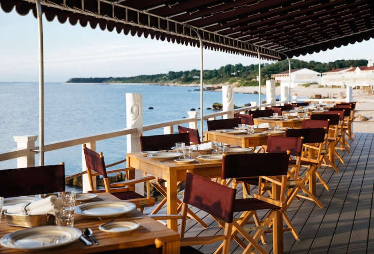 outdoor dining is offered on the halyard deck. 24