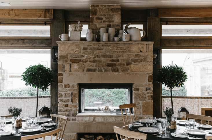Expert Advice Thoughts on Designing from Nature with Spencer Fung A mix of natural materials and textures in The Wild Rabbit, a Cotswald pub that Fung designed.